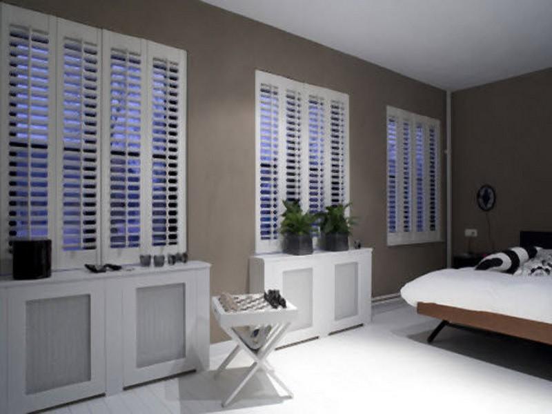 Interior shutters - Raambekleding Regio Alkmaar Zienxl
